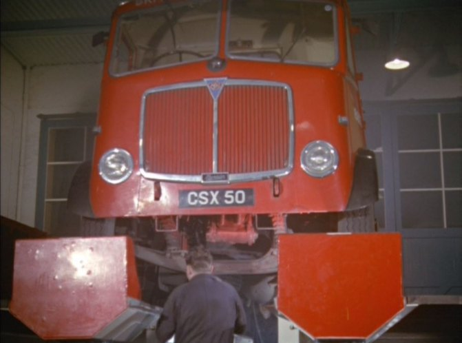 1958 AEC Mandator British Road Services MkIII