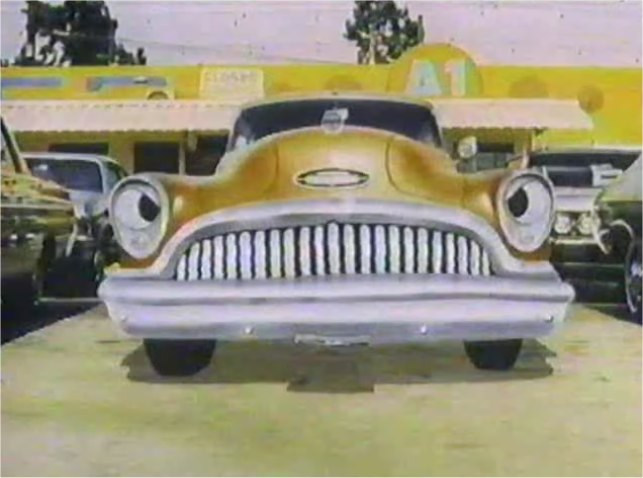 1953 Buick Cartoon