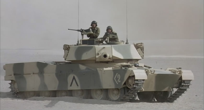 Vickers-Armstrong FV 4201 Chieftain as M1A1 'Abrams' by Armytrucks Inc.