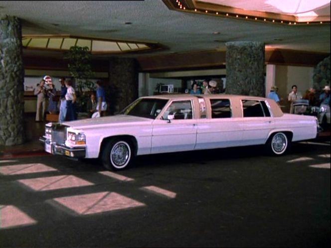 1983 Cadillac Sedan DeVille Stretched Limousine