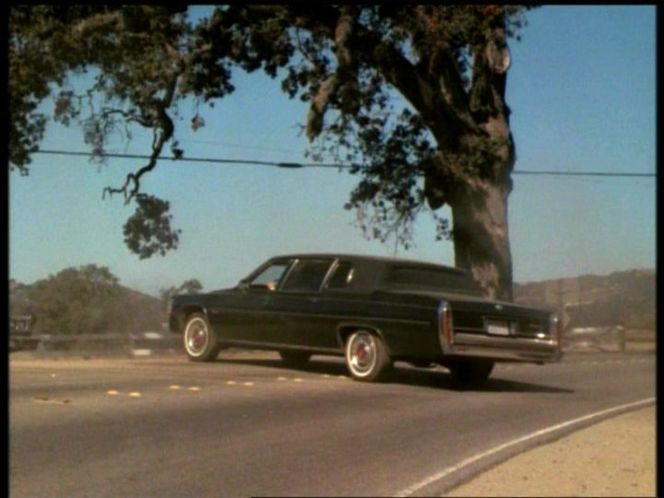 1983 Cadillac Fleetwood 75 Stretched Limousine