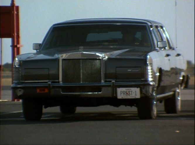 1978 Lincoln Continental Stretched Limousine