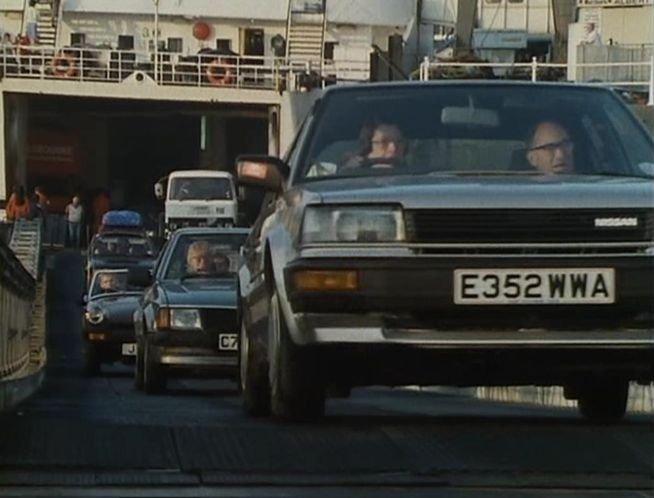 """IMCDb.org: 1987 Nissan Bluebird LX [T12] in """"Bergerac ..."""