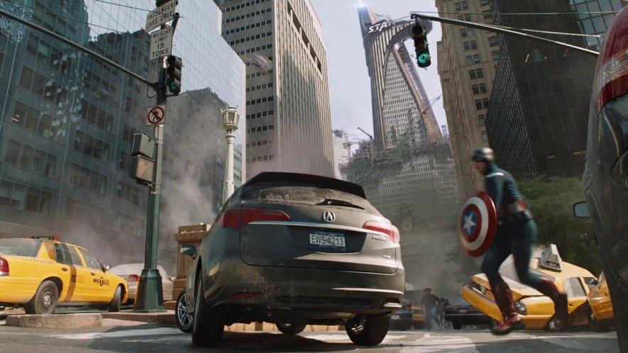 "IMCDb.org: 2013 Acura RDX in ""The Avengers, 2012"""