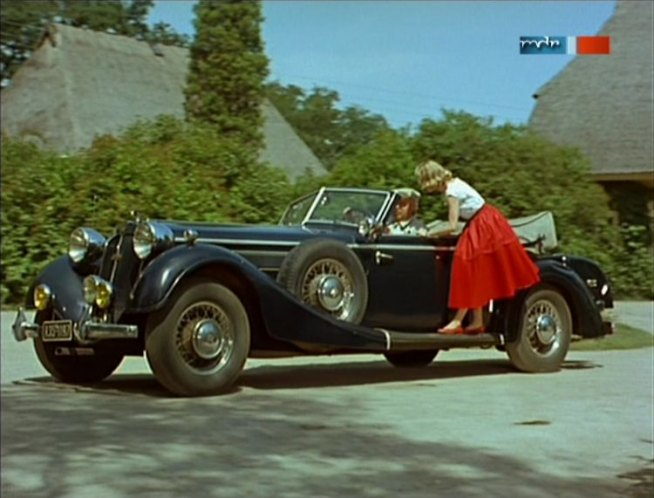 1939 Horch 853 A Sport Cabriolet [850]