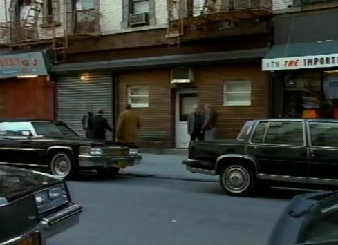 Imcdb Org 1985 Cadillac Fleetwood In Quot Witness To The Mob