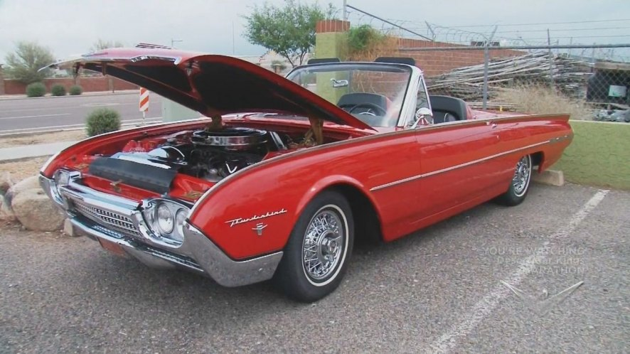 1962 Ford Thunderbird Sports Roadster [76B]
