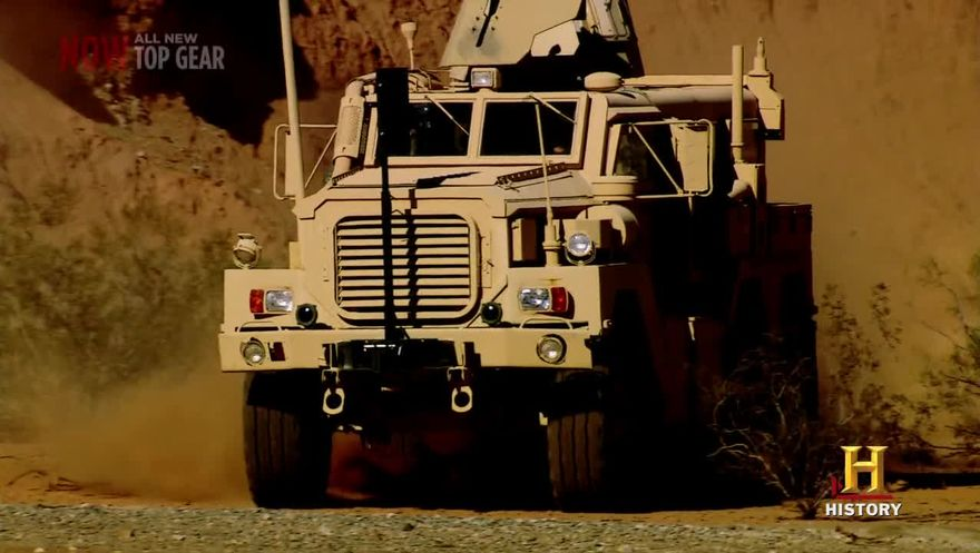 Force Protection Cougar 6x6 MRAP