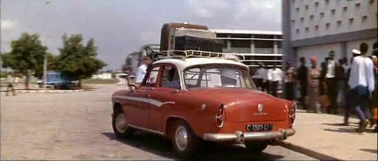 1959 simca aronde p60 elys e in le gentleman de cocody 1965. Black Bedroom Furniture Sets. Home Design Ideas