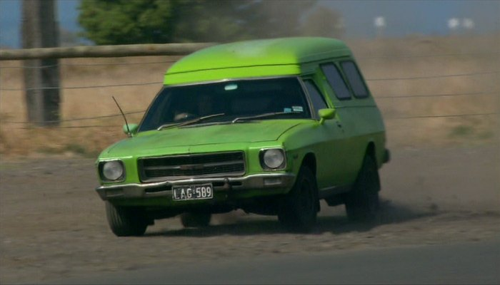 1971 Holden Belmont Panel Van with GTS grille [HQ]