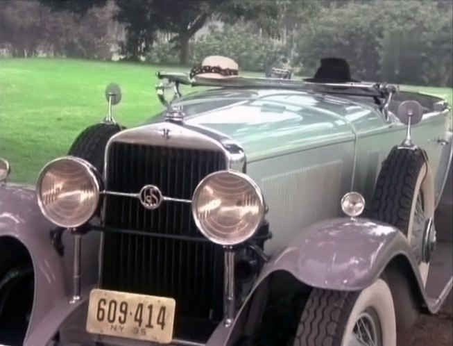 1930 LaSalle Convertible Coupe [340]