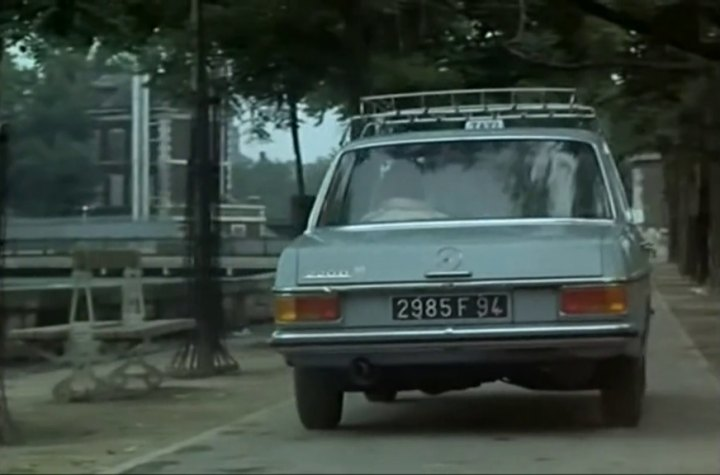 1968 mercedes benz 220 d w115 in slogan 1969 for Mercedes benz tagline