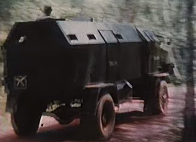 1951 Bedford RL 'Pig' 3-Ton Armoured Truck