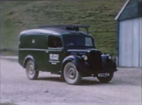 1949 Morris Series Y 10cwt Van Post Office Telephones