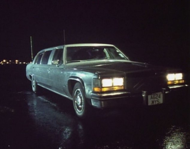 1984 Cadillac Sedan DeVille Stretched Limousine American Custom Coachworks