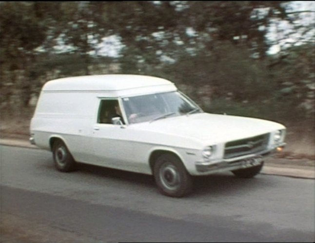 1972 Holden Belmont Panel Van [HQ]