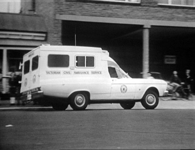 1968 Ford Fairlane Ambulance Superior Industries [ZB]