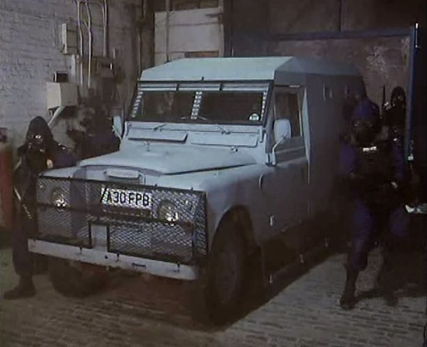 1971 Land-Rover 88'' Series III as armoured police vehicle