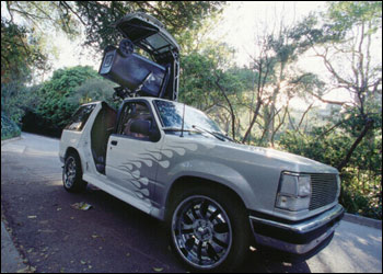 Extremely Modified First Gen Explorer Trash Truck Ford