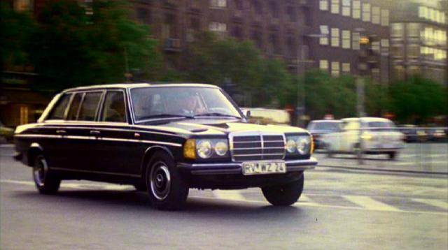 W123 modellen